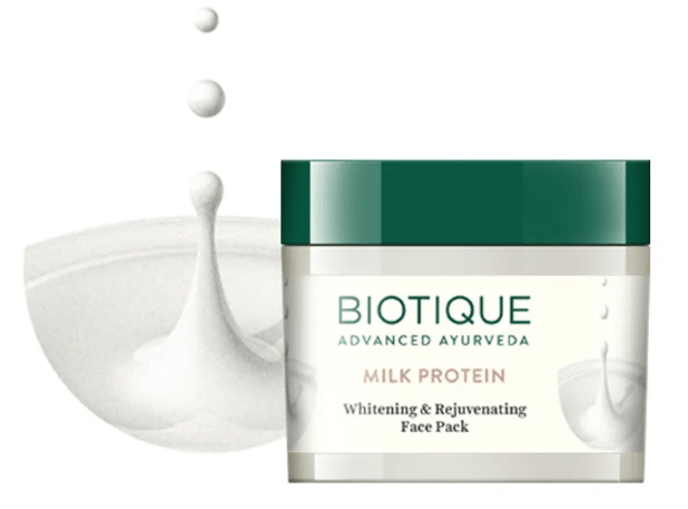 Top Face Masks in India_BiotiqueBioMilkProtein_Beauty