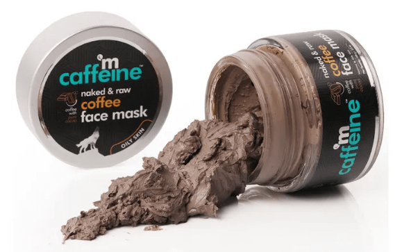 Top Face Masks in India__mCaffeineNaked_RawCoffee-healthyskin