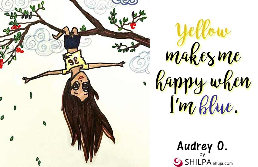 audrey-o-yellow-dress-quotes-instagram-status-captions