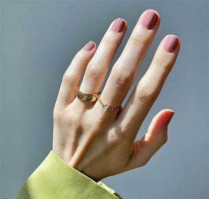 nail nude colors classy shades Types of Manicure_