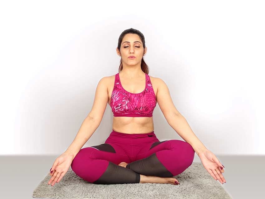 om-yoga-meditation-sukhasana Pose-yoga-routine