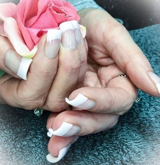 types of manicure latest trendy solar nails