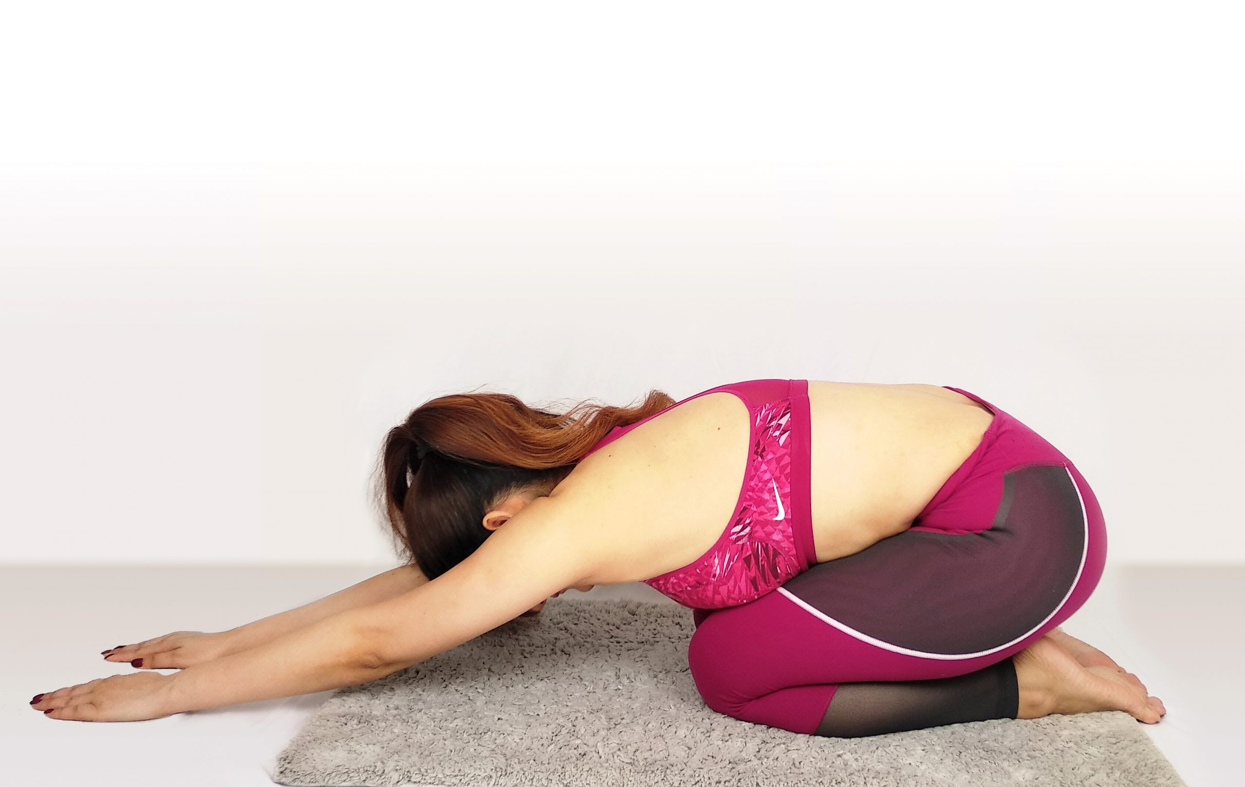 yoga routine simple basic poses balasana