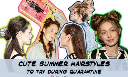 Cute-summer-hairstyles-quarantine-lockdown-hairdo