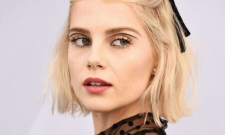 graphic eyeliner lashes makep looks lucy boynton