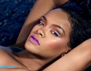 rihanna summer 2020 makeup trends celebrity