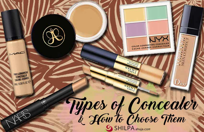 different types-of-concealer-how select-skin-match