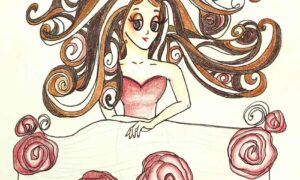 audrey-o-cartoon-girl-fashion-illustration-comic-character-long-hair