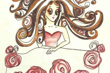 audrey-o-cartoon-girl-fashion-illustration-comic-character-long-hair
