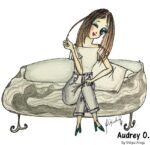 audrey-o-cartoon-girl-fashion-illustration-winking-fun-college