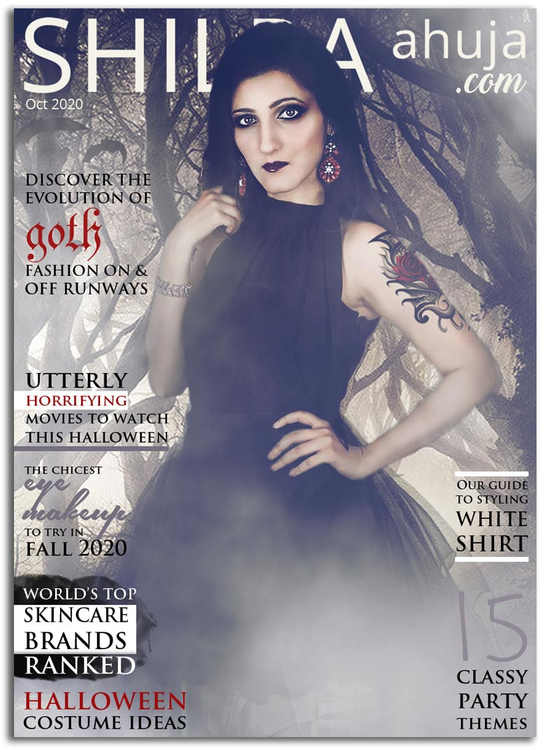 oct 2020-magazine-cover halloween goth fashion-magazine-
