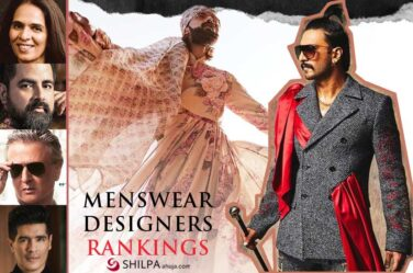 Top Indian Menswear Fashion Designers Industry Rankings