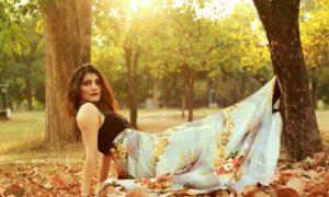 shilpa ahuja fashion outdoor wedding outfit idea dress