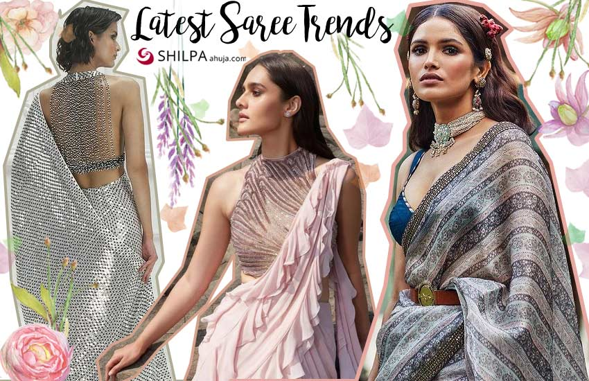 Latest saree for 2021 Top Designer Collection designs style