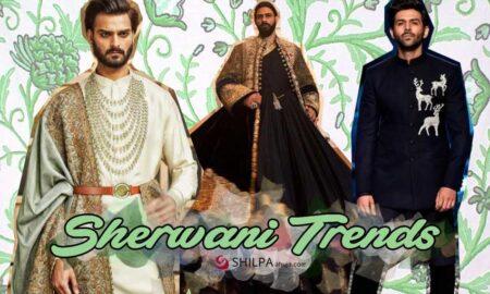 Sherwani Trends for 2021 Men's Indian Ethnic Wear Trends