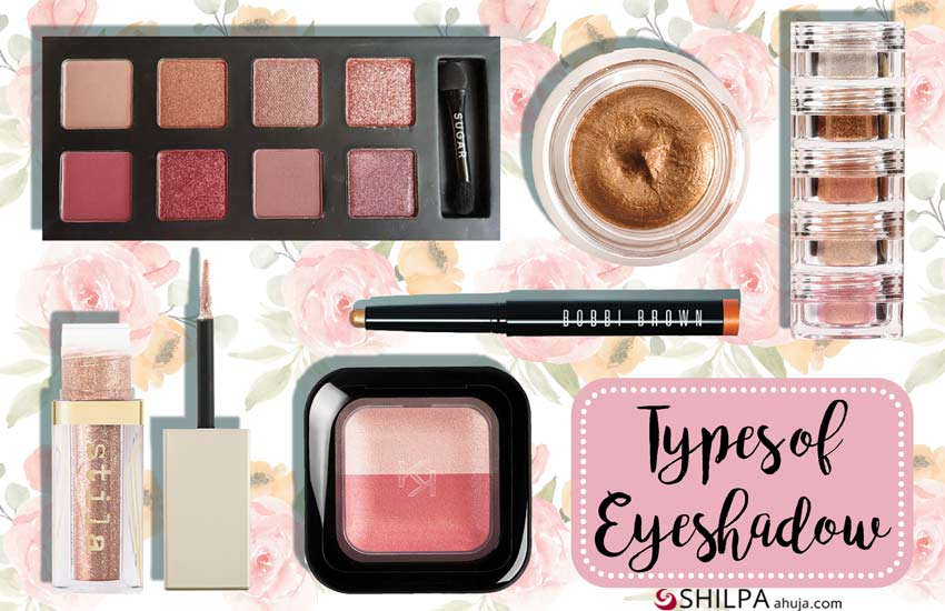 Eye Makeup different types of eyeshadow