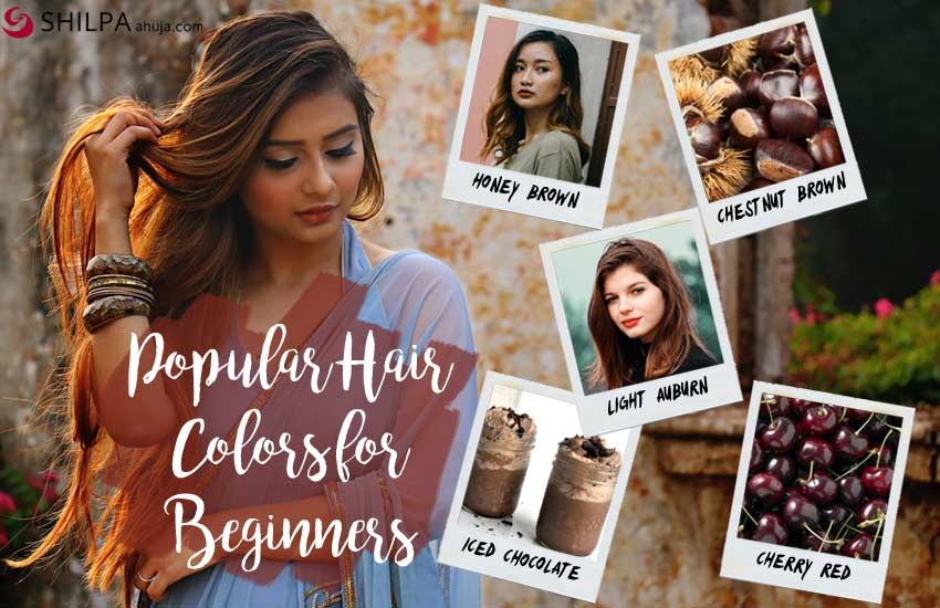 popular hair colors-beginners-first-time-coloring